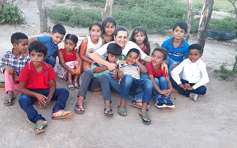Ir. Laura em Manari/PE