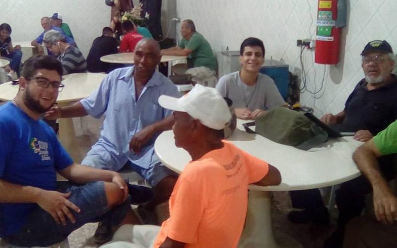 Visita ao Centro de Convivência São Vicente de Paulo